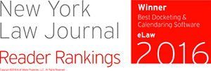NY Law Journal Readers Ranking Award 2014